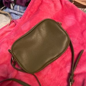Old Navy body cross bag and it's a Olive green